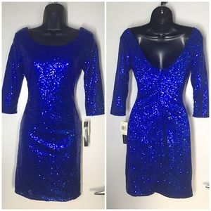 MY MICHELLE💙SEQUENCE DRESS
